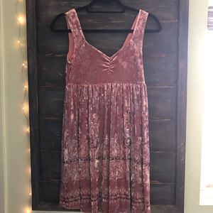 Free People Velvet Tank Dress